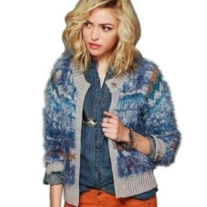 Free People Pattern Party Cardigan